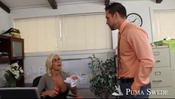 Puma Swede and Johnny Castle in Naughty Office