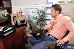 Puma Swede and Johnny Castle in Naughty Office (Thumb 01)