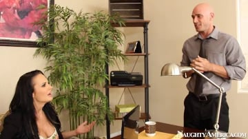 Alektra Blue and Johnny Sins in Naughty Office