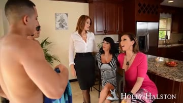 Holly Halston and Pike Nelson in My Friends Hot Mom