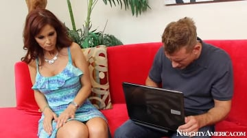 Syren De Mer and Bill Bailey in Seduced by a cougar