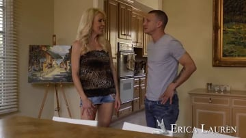 Erica Lauren and Mr. Pete in Seduced by a cougar