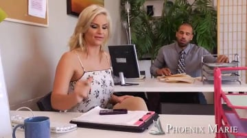 Phoenix Marie and Karlo Karrera in Naughty Office