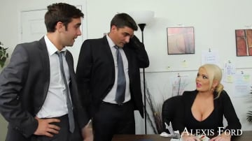 Alexis Ford, Logan Pierce and Toni Ribas in Naughty Office