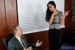 Lyla Storm and Mark Wood in Naughty Office (Thumb 01)