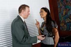 Lyla Storm and Mark Wood in Naughty Office (Thumb 02)