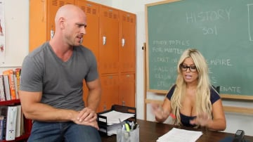 Bridgette B. and Johnny Sins in My First Sex Teacher