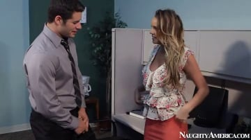 Alexis Adams and Giovanni Francesco in Naughty Office
