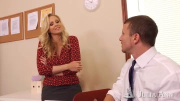Julia Ann and Mr. Pete in Naughty Office