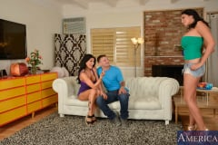 Missy Martinez, Romi Rain and Mr. Pete in My Girlfriend's Busty Friend (Thumb 15)
