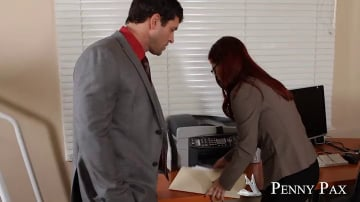 Penny Pax and Preston Parker in Naughty Office