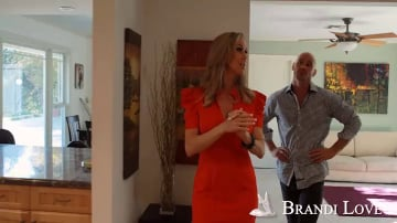 Brandi Love and Johnny Sins in Seduced by a cougar