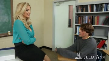 Julia Ann and Tyler Nixon in My First Sex Teacher