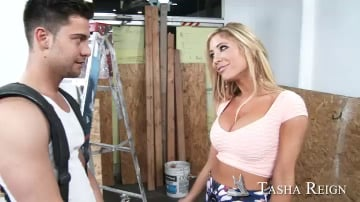 Tasha Reign and Seth Gamble in My Dad's Hot Girlfriend