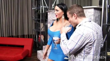 Amy Anderssen and Mr. Pete in My Girlfriend's Busty Friend