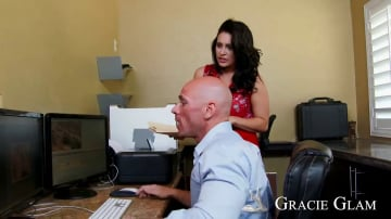 Gracie Glam in Naughty Office
