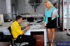 Summer Brielle in Naughty Office (Thumb 13)