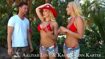 Kagney Linn Karter and Aaliyah Love in My Wife's Hot Friend