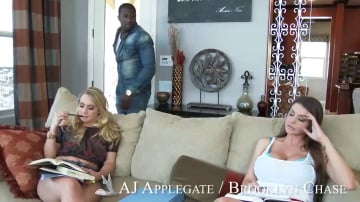Brooklyn Chase and AJ Applegate in My Sisters Hot Friend