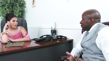 London Keyes in Naughty Office