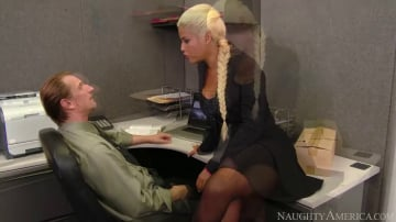 Bridgette B. in Naughty Office