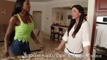 India Summer and Diamond Jackson in My Friends Hot Mom