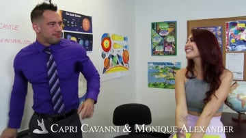 Capri Cavanni and Monique Alexander in My First Sex Teacher