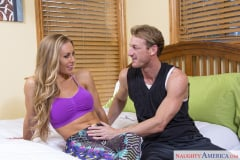 Nicole Aniston and Ryan Mclane in My Girlfriend's Busty Friend (Thumb 01)