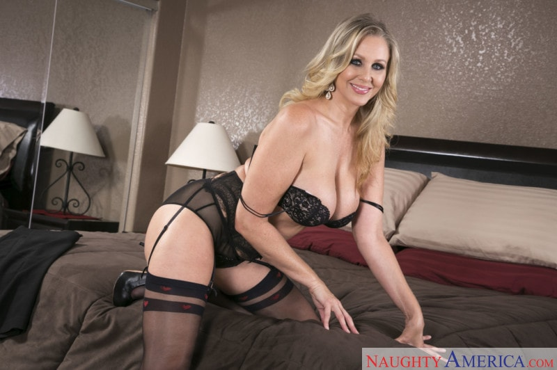 Naughty America 'Julia Ann and Chad White in Seduced By A Cougar' starring Julia Ann (photo 1)
