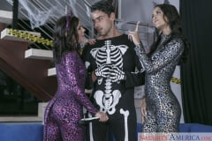 Abby Lee Brazil and Adriana Chechik and Ryan Driller in 2 Chicks Same Time (Thumb 02)