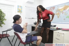 Diamond Jackson and Kyle Mason in My First Sex Teacher (Thumb 02)