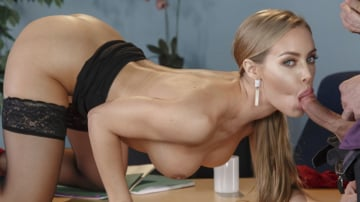 Nicole Aniston and Ryan Driller in Naughty Office