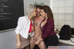 Alyssa Lynn and Sara Jay and Lucas Frost in My First Sex Teacher (Thumb 03)