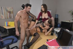 Ashley Adams and August Ames and Charles Dera in Naughty Office (Thumb 04)
