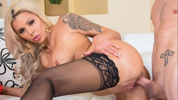Nina Elle and Tyler Nixon in My Friend's Hot Mom