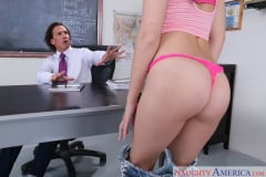 Brooke Haze and Tony DeSergio in Naughty Bookworms (Thumb 06)