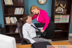 Sara Jay and Rion King in Naughty Office (Thumb 12)