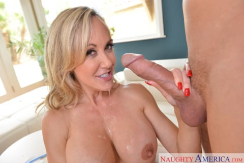 Naughty America 'and Brad Knight in Seduced By A Cougar' starring Brandi Love (Photo 1)