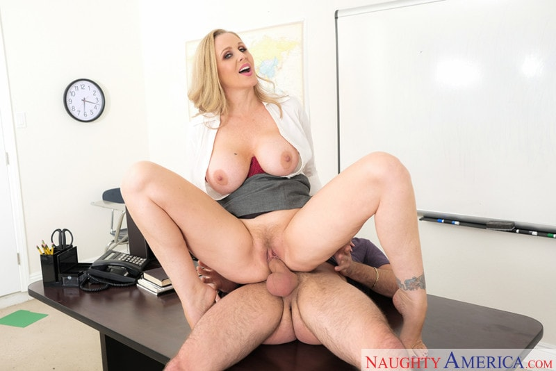Naughty America 'Julia Ann and Lucas Frost in My First Sex Teacher' starring Julia Ann (photo 5)