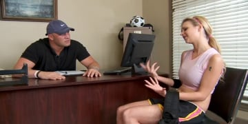 Tarra White and Christian in Naughty Athletics