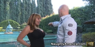 Ava Devine and Johnny Sins in Seduced by a cougar