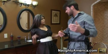 Gabby Quinteros and Charles Dera in Latin Adultery