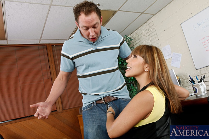 Naughty America 'Ava Devine and Will Powers in My First Sex Teacher' starring Ava Devine (photo 2)