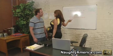 Ava Devine and Will Powers in My First Sex Teacher