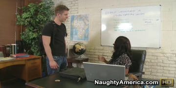 Sincerre Lemmore and Danny Wylde in My First Sex Teacher