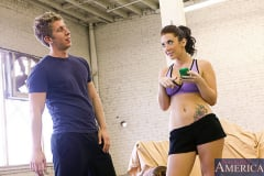 Jayden Jaymes and Danny Wylde in Naughty Athletics (Thumb 01)