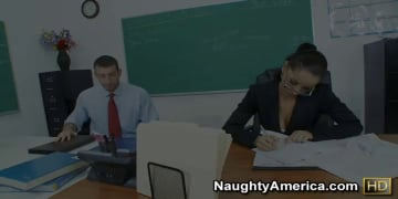 Angel Dark and Jordan Ash in My First Sex Teacher