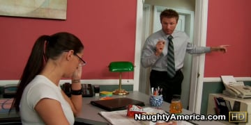 Kortney Kane and Levi Cash in Naughty Office