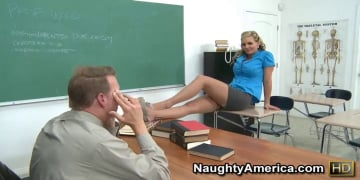 Phoenix Marie and Mark Wood in My First Sex Teacher