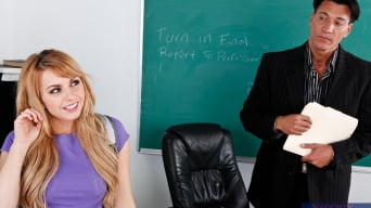 Lexi Belle in 'and Marco Banderas in Naughty Bookworms'